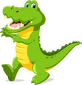 Cute Cartoon Crocodile Stock Photography - 84043282