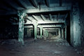Abandoned Underground Tunnel Connecting The Buildings Of Factory Stock Photo - 84063200
