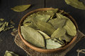 Raw Organic Dry Bay Leaves Stock Image - 84074421