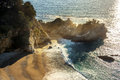 McWay Falls In Big Sur. Pacific Ocean Royalty Free Stock Images - 84086449