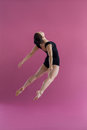 Female Dancer Practising Contemporary Dance Stock Images - 84096494