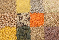 Various Seeds And Grains Royalty Free Stock Photo - 8416445
