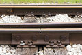 Rusty Rail Joint Stock Images - 84102094