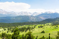 Rocky Mountain National Park Panoramic View Royalty Free Stock Images - 84105409