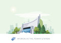Hydroelectric Water Power Station Stock Image - 84173181