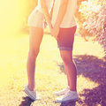 Summer Happy Young Couple In Love Kissing Outdoors Stock Photo - 84175710