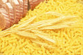 Pasta,bread And Ears. Royalty Free Stock Photography - 8420307
