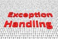 Exception Handling Stock Image - 84207111