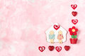Festive Background To Valentines Day Stock Image - 84212191