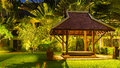 Wooden Gazebo In The Hotel On Karon Beach, Phuket Island,Thailand Stock Photo - 84214830