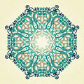Vector Round Ornament In Victorian Style. Stock Photo - 84267290