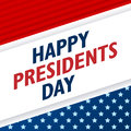 Presidents Day Background. USA Patriotic Vector Template With Text, Stripes And Stars In Colors Of American Flag. Royalty Free Stock Photo - 84285505