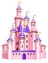 Pink Princess Castle. Stock Photography - 84309102