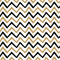 Vector Seamless Pattern With Fabric Zig Zag Texture Royalty Free Stock Photography - 84312397