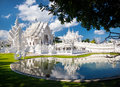 White Temple In Northern Thailand Royalty Free Stock Photo - 84320925