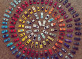 Toy Cars Making A Colorful Circle Stock Photo - 84352430