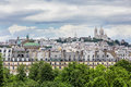 Roofs Of Paris With Basilique Du Sacre Coeur In Background, Pari Royalty Free Stock Photos - 84355978