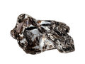 Dark Reddish-brown Phlogopite Mica Crystals Isolated On A White Background Royalty Free Stock Photography - 84384037