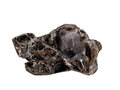 Dark Reddish-brown Phlogopite Mica Crystals Isolated On A White Background Royalty Free Stock Photography - 84384227