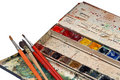Artists Watercolours Stock Images - 8448104