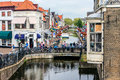 Canals In Netherlands Stock Image - 84404761
