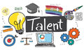 Talent Occupation Abilities Capacity Expertise Concept Stock Photography - 84455502
