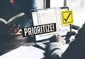 To Do List Time Management Reminder Prioritize Concept Stock Image - 84468301