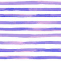 Seamless Pattern With Purple Watercolor Stripes. Hand Painted Brush Strokes, Striped Background. Vector Illustration Royalty Free Stock Photography - 84487267
