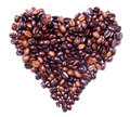 Coffee Beans Concept - Heart Health Or Love Stock Photo - 8454810