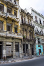 Crumbling Homes - Havana, Cuba Royalty Free Stock Images - 8457609