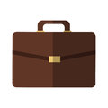 Brown Briefcase Icon Stock Photography - 84523622