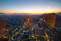 Santiago Of Chile Aerial View From The Costanera Center At Sunset Stock Photography - 84543672