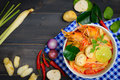 Tom Yum Soup Royalty Free Stock Image - 84546636