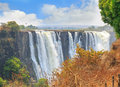 Mosi-oa-Tunya, Victoria Falls, One Of The Natural Wonders Of The World Royalty Free Stock Images - 84549629