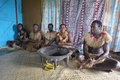 Indigenous Fijians Men Participate In Traditional Kava Ceremony Royalty Free Stock Photo - 84575325