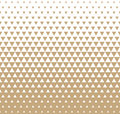 Abstract Geometric Golden Graphic Design Print Triangle Halftone Pattern Royalty Free Stock Photo - 84577575