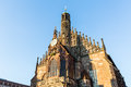 View Of The Frauenkirche In The Old Town Part Of Nurnberg Royalty Free Stock Photo - 84605325