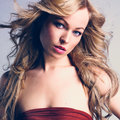 Sexy Caucasian Young Woman In Red Dress With Long Blond Hair Royalty Free Stock Photo - 84607145