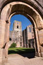 Fountains Abbey Ruins In England Royalty Free Stock Photography - 84614057