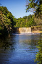 Upper Tahquamenon Falls Royalty Free Stock Photo - 84628275