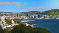 Aerial View Of Wellington Royalty Free Stock Photo - 84642655
