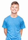 Emotional Portrait Of Teen Boy Royalty Free Stock Image - 84673526