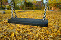 Lonely Child Swing Royalty Free Stock Image - 84695846