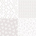Seamless Background Patterns In Stone And White Royalty Free Stock Photography - 84699097