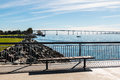 Coronado Bridge From Embarcadero Marina Park North In San Diego Stock Photos - 84699423
