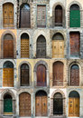 Collection Elegant Obsolete Door Tuscany Italy Royalty Free Stock Image - 8474296