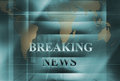 Breaking News Background Concept Series 97 Stock Photo - 84711880