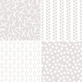 Seamless Neutral Background Patterns Stone And White Stock Photo - 84714370