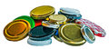 Metalic Lids For Jars Royalty Free Stock Images - 84717209