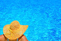 Real Female Beauty Relaxing At Swimming Pool Stock Photo - 84719080